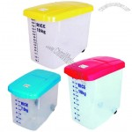 Rice Storage Box, Pet Food Storage Container