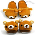 Rilakkuma Plush Slippers for Kids