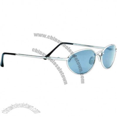 Rio Resort - Sunglasses With Silver Metal Frames And Smoke Lenses