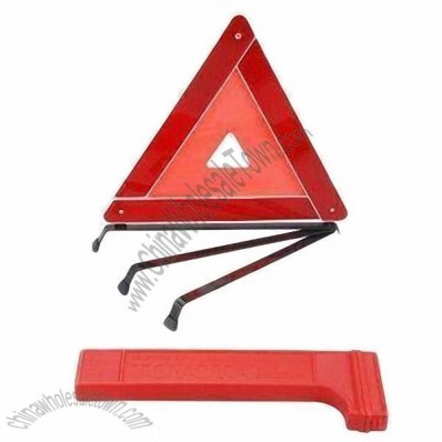 Roadway Warning Triangle for Automobile