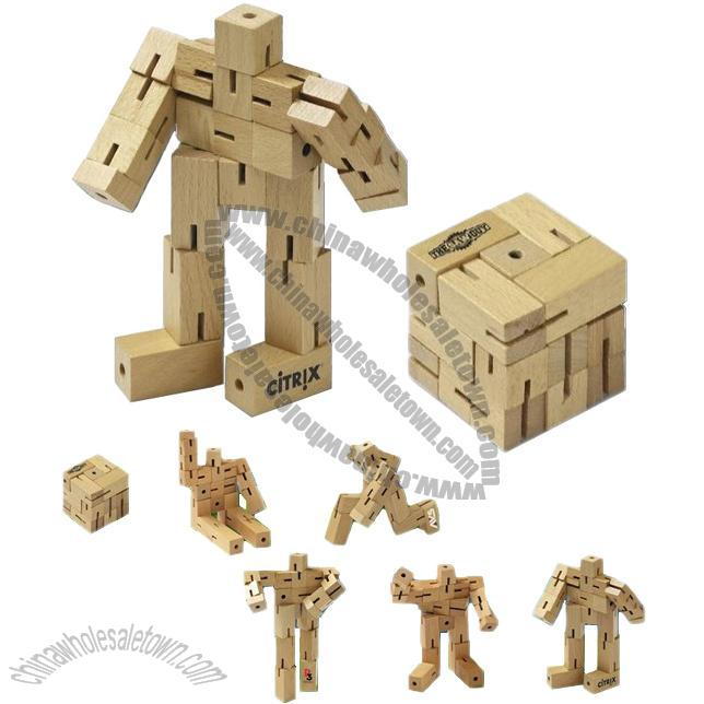 Robo Cube Puzzle Wooden Puzzle China Wholesale Town Supplier