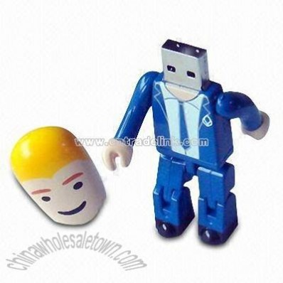 Robot-shaped USB Flash Drive