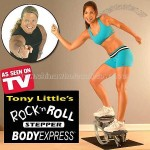 Rock N Roll Stepper - Cardio Workout Machine As Seen on TV