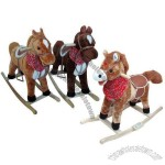 Rocking Horses with Music for Children