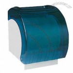 Roll Tissue Holder with Clarity Green