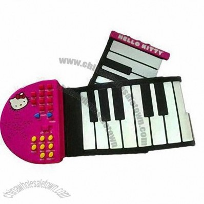 Roll-up Piano with Cute Design