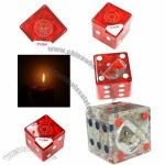 Rollable Dice Butane Lighter with Bottle Opener