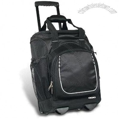 Rolling Cooler Bag with Two Stages
