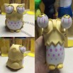 Rolling Eyeballs Pop-out Owl Stress Reliever Toy