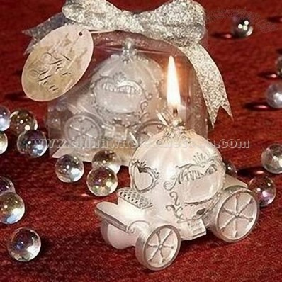 Romantic Carriage Candles