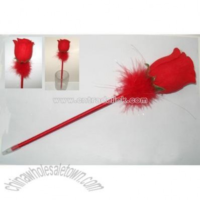 Rose Feather Pen