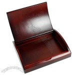 Rosewood - Curved wooden gift box