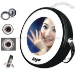 Rotatable LED Lighted Mirror