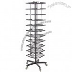Rotate Display Rack Stand
