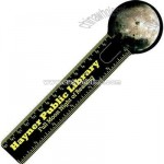 Round - Full color bookmark with ruler