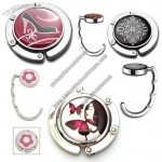 Round Folding Purse Hanger, Magnetic
