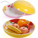 Round Melamine Fruit Tray