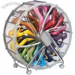Round Rotating Ferris Wheel Shoe Rack