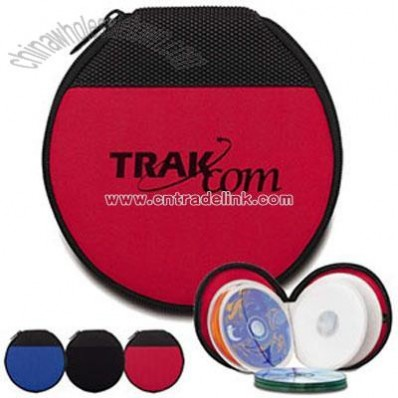 Round Techno-prene CD Case