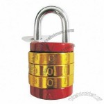 Round-shaped Body Combination Padlock