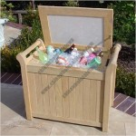 Royal Teak Roble Wood Ice Chest