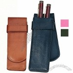 Royce Leather Double Pen Case
