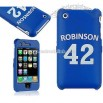 RubC-iPhone3GS #42 Robinson Blue Rubber Case