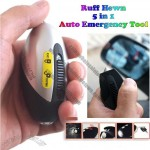 Ruff Hewn 5 in 1 Micro Auto Emergency Tool