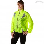 Running Reflective Safety Rain Coat