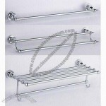 Rustproof Zinc Towel Bar