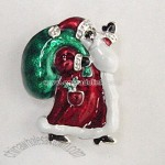 SANTA CLAUS SLIDE WITH COLOR