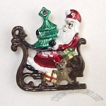 SANTA ON SLEIGH SLIDE WITH COLOR