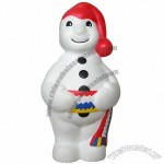 SNOWMAN Stress Ball Squeeze Toy