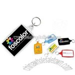 SUPER SIZED RECTANGULAR ACRYLIC KEYCHAIN