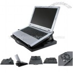 SYBA Notebook Laptop Stand Holder 360 Adjustable w/ Colling Fan