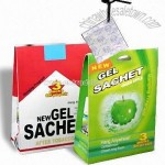 Sachet with Gel Perfume Type of Fragrance