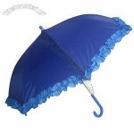 Safe Plastic Handle Children's Umbrella