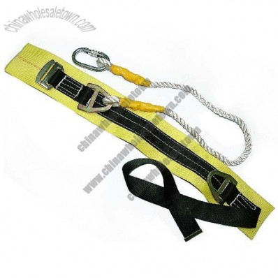 Safety Belt With Back Support