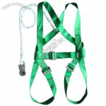 Safety Harness With Single Lanyard
