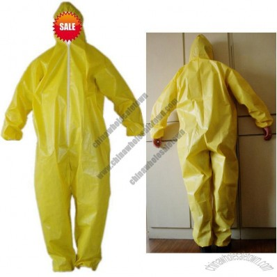 Safety Orange Disposable Coverall