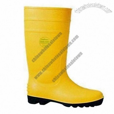 Safety Rain Boots in Different Colors