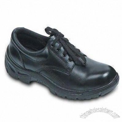 Safety Shoe with Action Leather Upper, 39 to 46# Sized