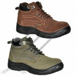 Safety Shoes, Cowhide Surface