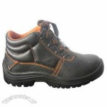 Safety Shoes with Cow Split Leather Upper