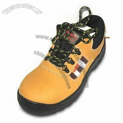 Safety Shoes with Dual PU Sole and CE EN345 Certification