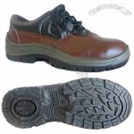Safety Shoes with EN Standards, Steel Toe and Steel Plate Midsole