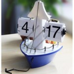 Sailing Automatically Flip Clock