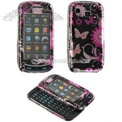 Samsung A877 Crystal Case with Butterfly Design