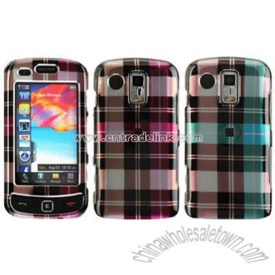 Samsung Rogue U960 / Glide 2 Crystal Check Designed Case