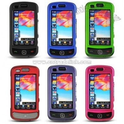 Samsung Rogue U960 /Glide 2 Crystal Rubberized Hard Case